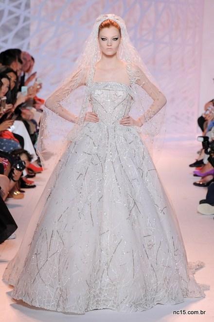 A noiva de Zuhair Murad na Paris Fashion Week Outo Inverno 2014-2015
