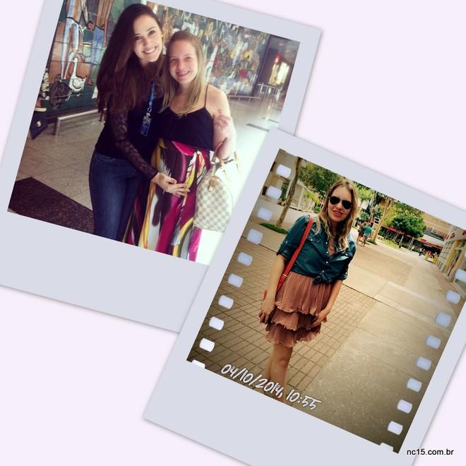 Com minha amiga Rafaella Magna, na despedida no aeroporto em Recife, estava com 14 semanas Eu e meu buxim de 18 semanas já aqui no RJ