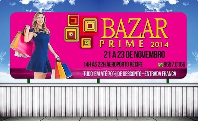 Outdoor do Bazar Prime 2014