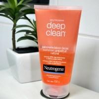 Review: Neutrogena Deep Clean Grapefruit