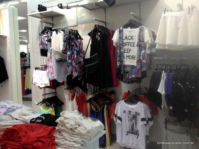 Quimonos e t-shirts