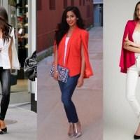 É tendência: cape dress e cape blazer