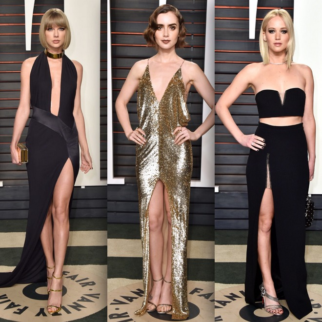 Taylor Swift, Lily Collins e JLaw