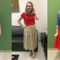 Três looks inspirados e para inspirar vocês