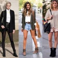 20 ideias e inspirações para usar bota de cano curto