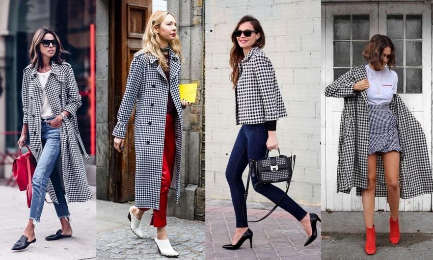 Blazer e casacos vichy