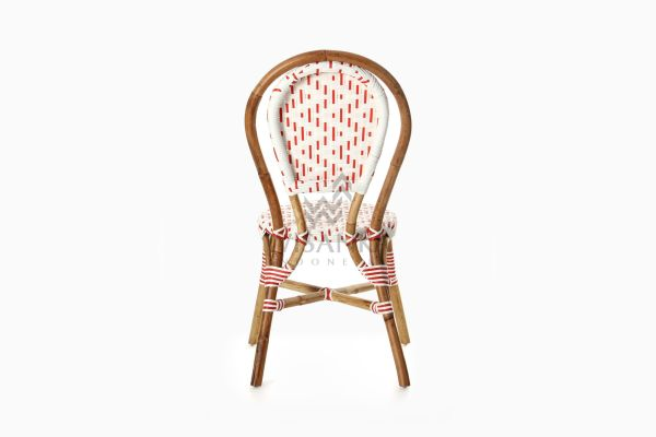 Aren Bistro Chair Aren Wicker Dining Chair rear