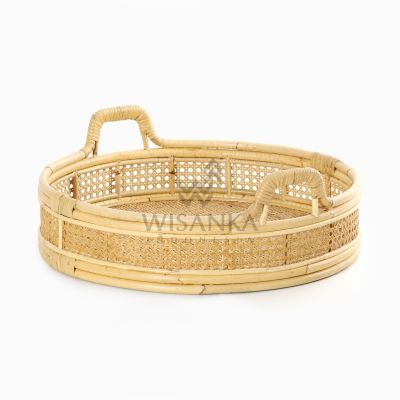 Adler Tray Rattan Wicker Etnic