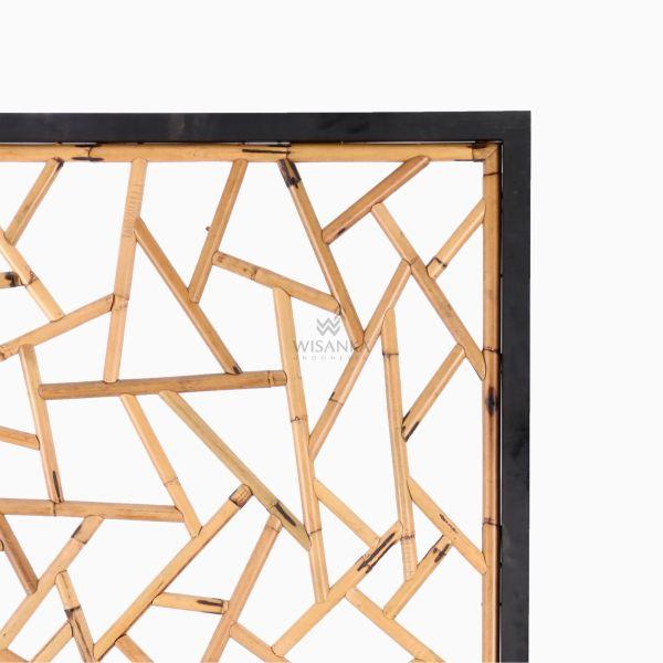 Thira Divider - Natural Rattan Furniture-detail