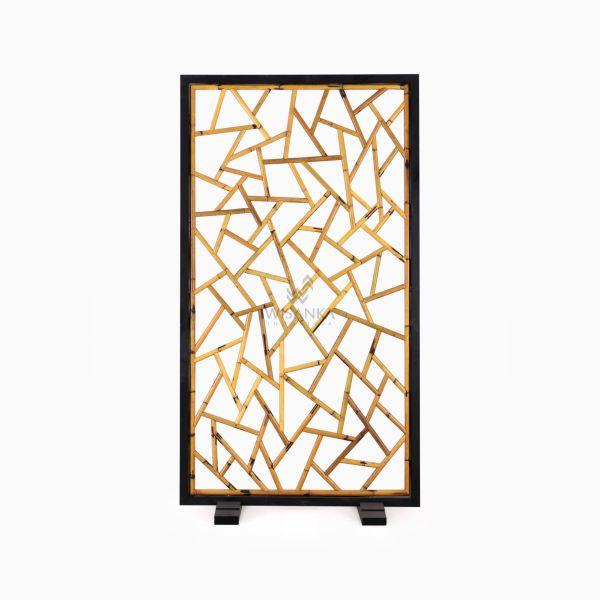 Thira Divider - Natural Rattan Furniture front