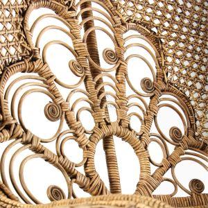 સલીમા પીકોક ખુરશી - કુદરતી રત્ન ફર્નિચર વિગતવાર 2