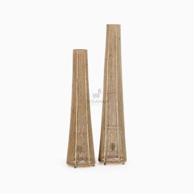 Kenanga Floor Lamp - Wicker Standing Floor Lamp-off