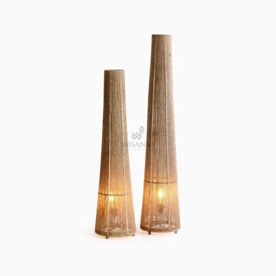 Kenanga Floor Lamp - Wicker Standing Floor Lamp