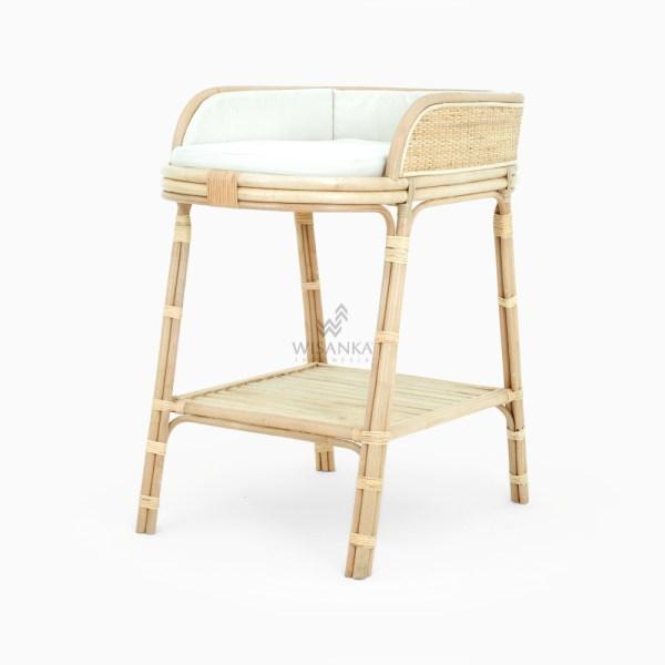 Mulan Kids Change Table - Rattan Wicker Kids Furniture
