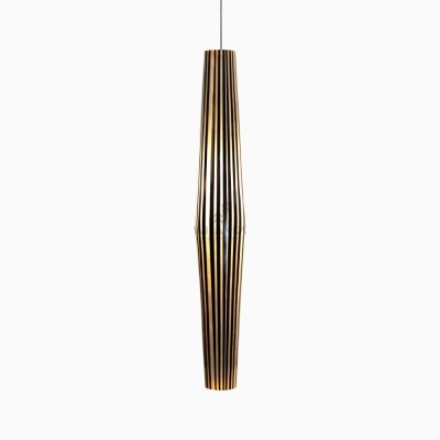 Şerit Asma Lamba - siyah sarkıt lamba