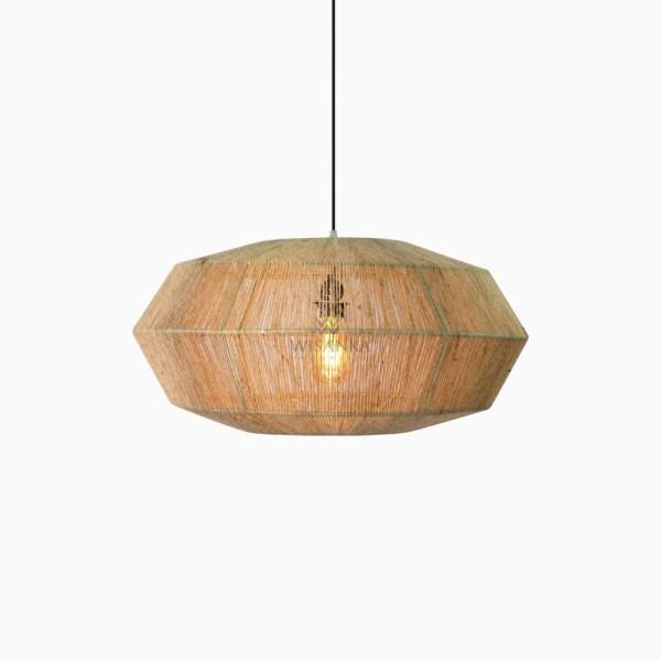 Terra Hanging Lamp - bedroom pendant lights-on