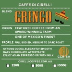 Gringo Coffee Blend Medium to Dark Roasted Coffee