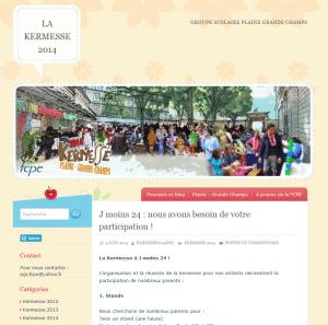 Site Kermesse Plaine Grands Champs