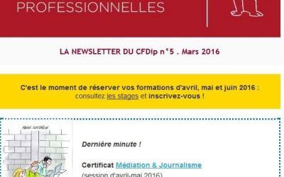 Communication digitale CFDip, Université Sorbonne Paris Cité