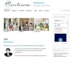 refonte du site web de Mentorem, Mentorat, Conseil RH et Formation