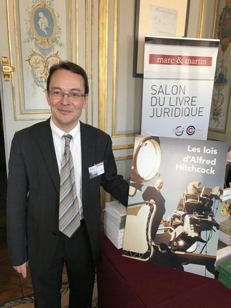 """Arnaud Coutant auteur de """"Les lois d'Alfred Hitchcock"""" aux éditions éditions Mare & Martin"""