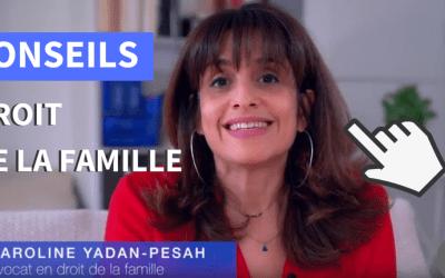 Stratégie et Communication digitale de Caroline Yadan Pesah, avocate en droit de la famille