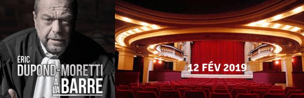 Les Avocats au théâtre : Eric Dupond-Moretti à la barre 3