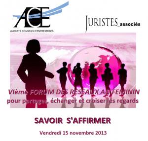 ACE Forum des réseaux feminins
