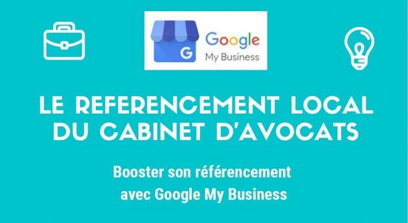 Le référencement local du cabinet d'avocats sur Google