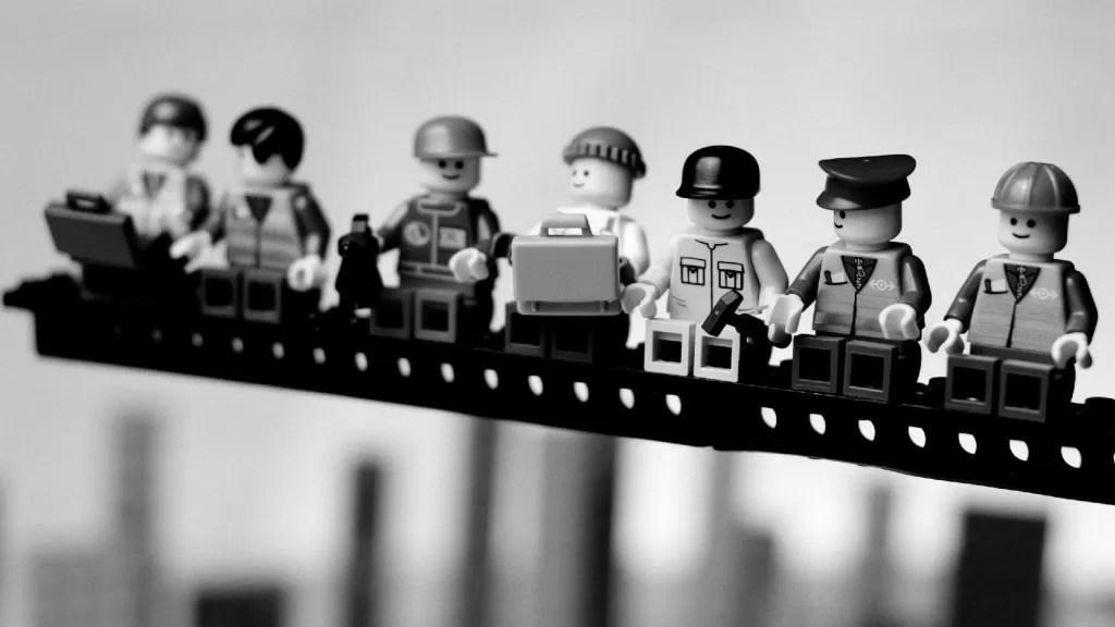 Lavoro lavoratori Lego