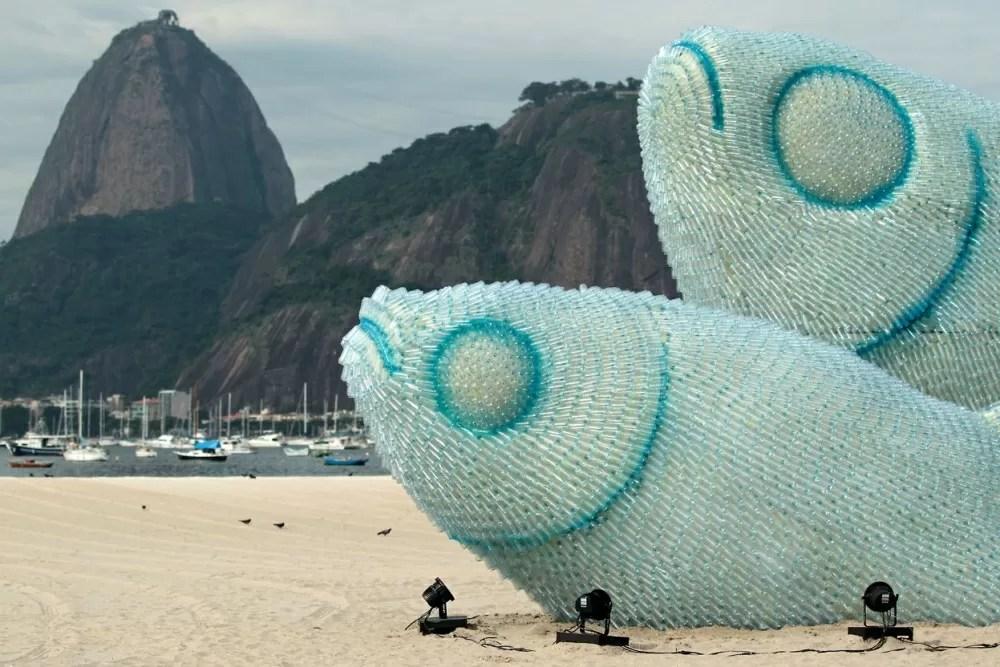 Quando il riciclo della plastica diventa arte