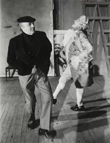 Alberto Sordi e Fellini che ballano