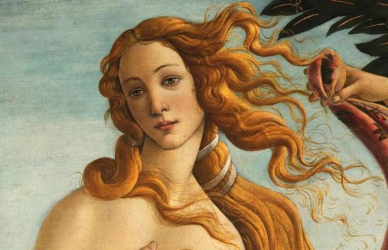 la bellezza della Venere del Botticelli