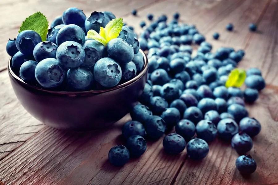 frutti di bosco, mirtillo