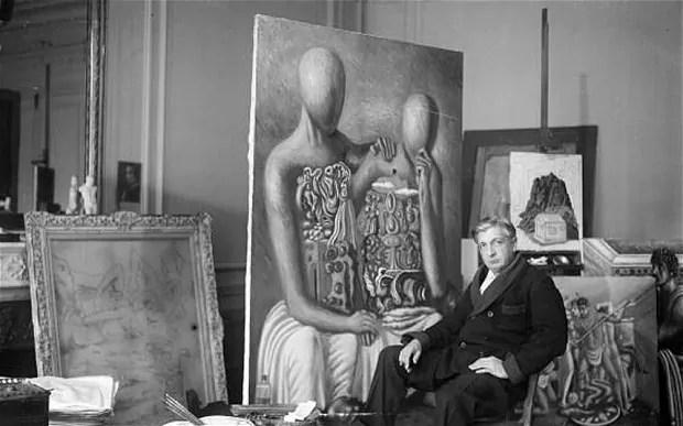 Il pictor optimus nel suo studio