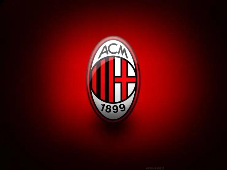 passione per il calcio, Milan