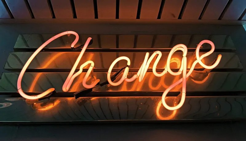 accettare il cambiamento