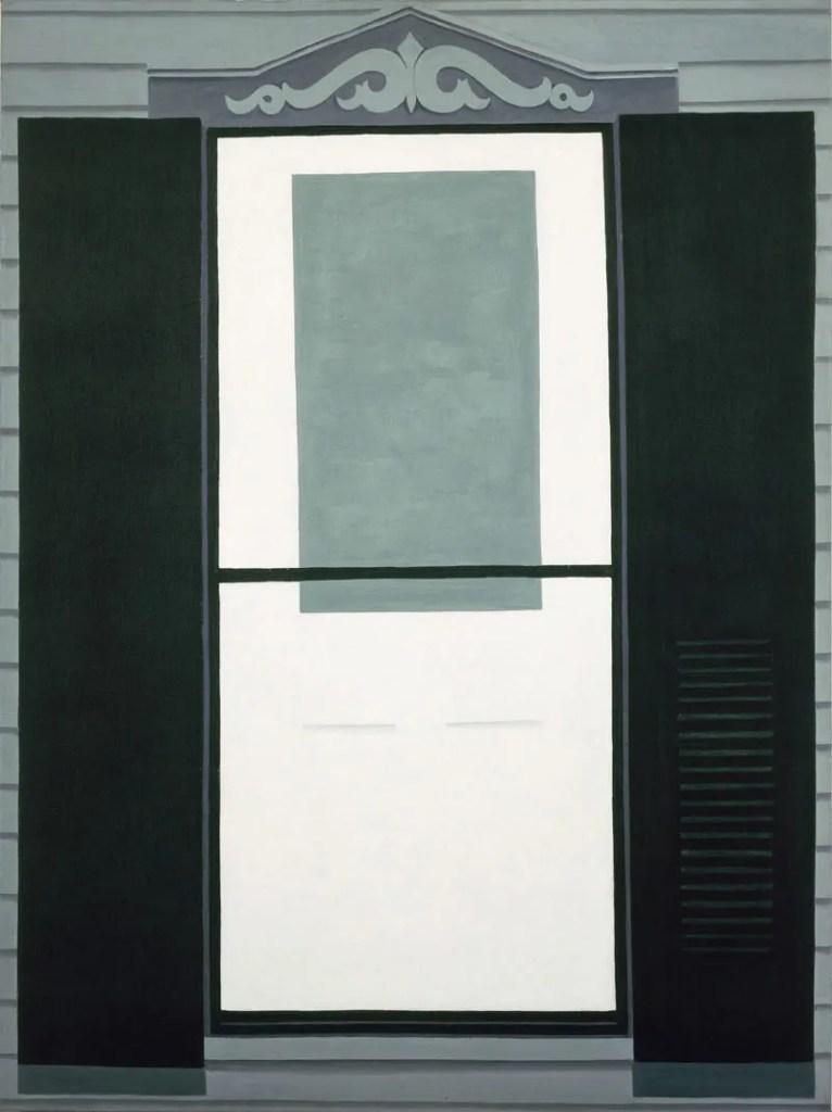 Georgia O'Keeffe, la porta