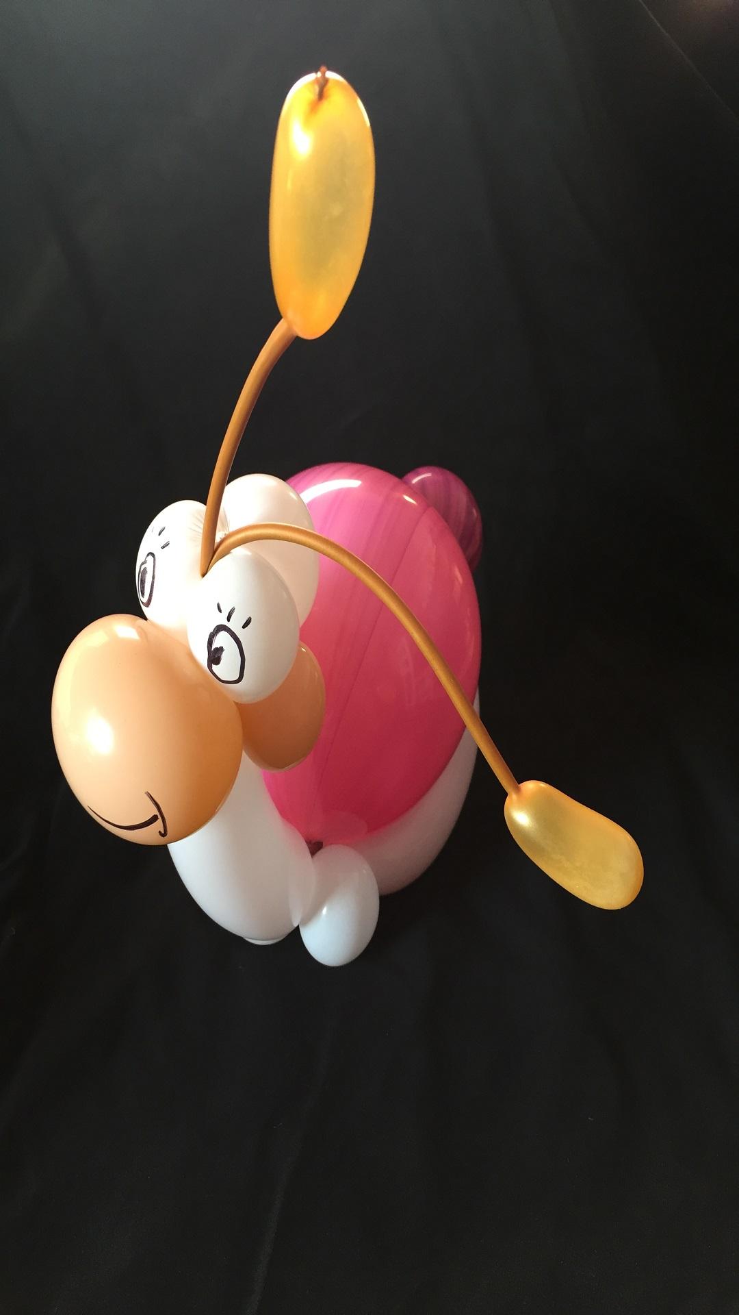 Petit Escargot en sculpture de ballon cirkonflex