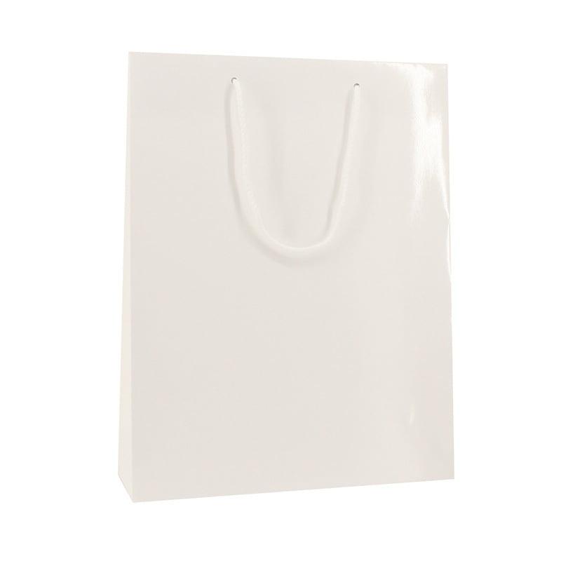 Luxe Papieren Tas - Wit