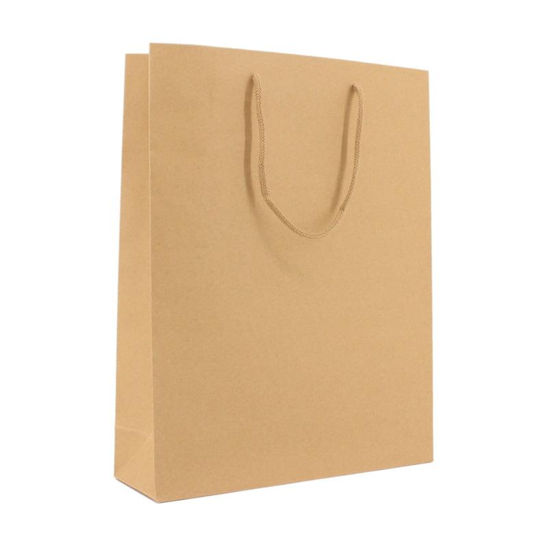 Luxe Papieren Kraft Tas - Bruin