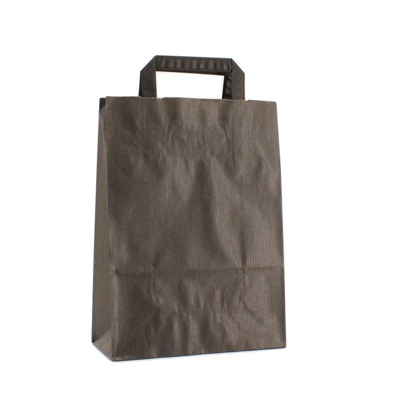 Budget Papieren Tas - Zwart