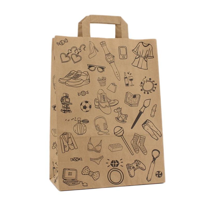 budget papieren tas doodle