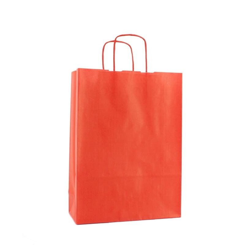Basic Papieren Tas - Rood