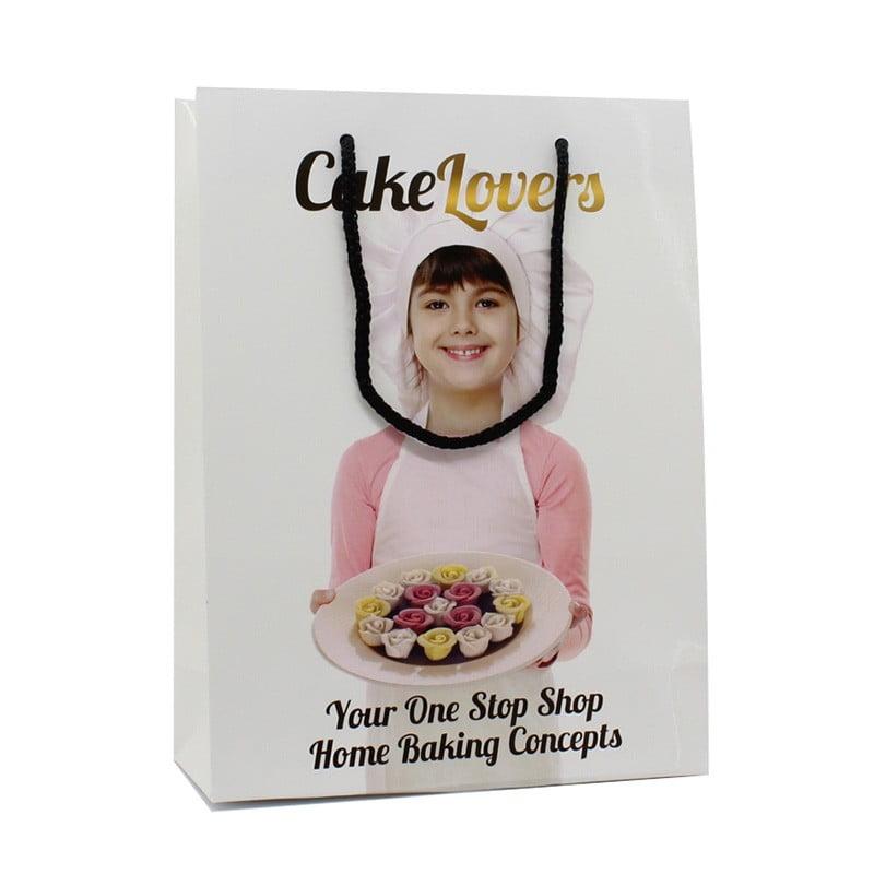 Luxe Papieren Tas - Cake Lovers