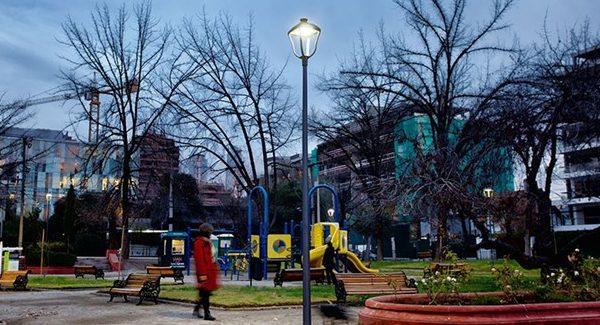 """Plazas de Providencia incorporarán """"Iluminación Inteligente"""" de Schréder"""