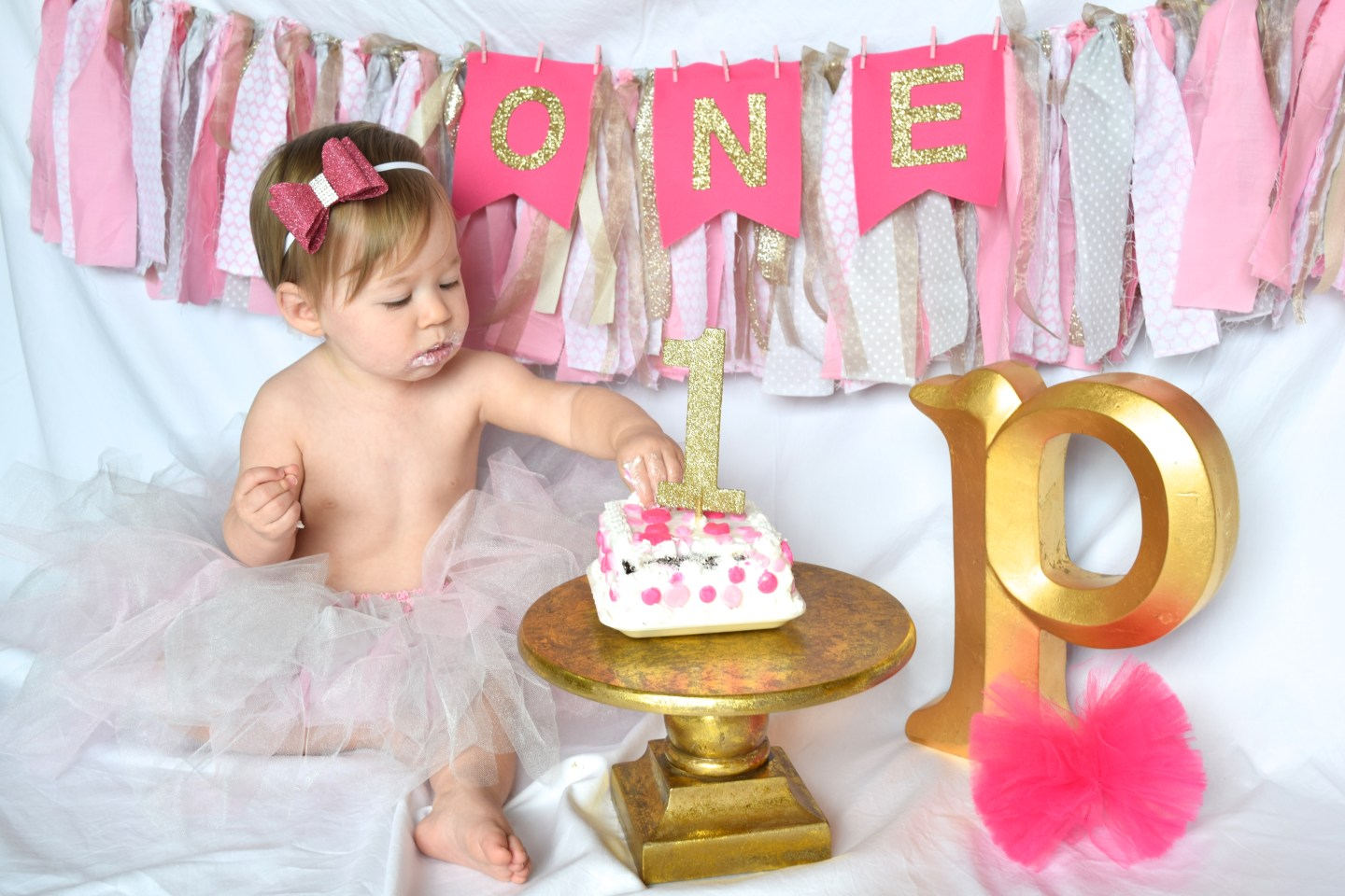 Awesome Diy First Birthday Cake Smash Session Cirque Du Solayne Funny Birthday Cards Online Overcheapnameinfo