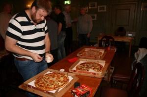 Pizza og Graupner HOTT