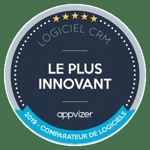 logiciel crm plus innovant par Appvizer