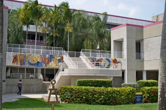 Front of ECS Building